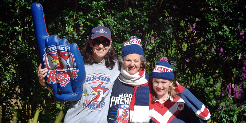 Rooster Supporters