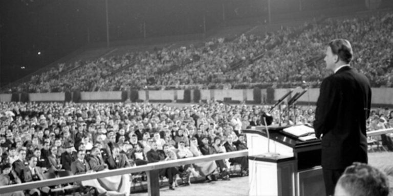 Billy Graham speaking in Florida