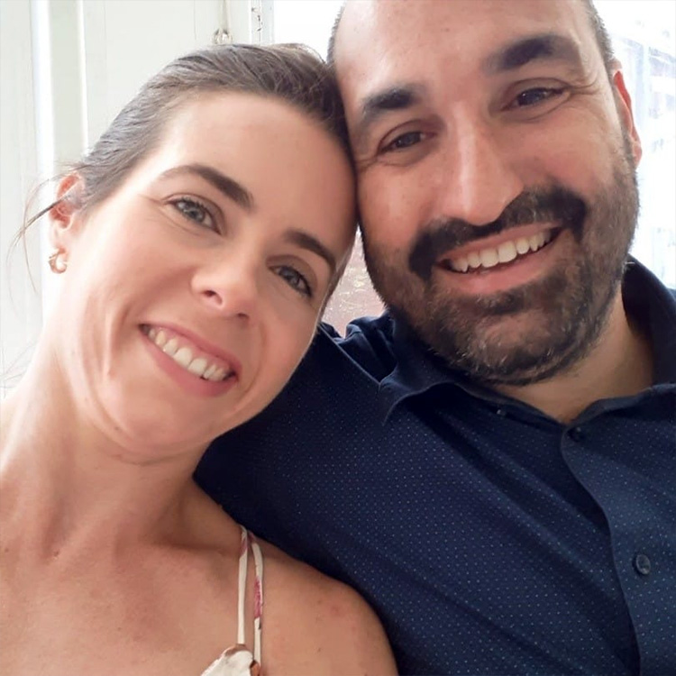 Photo of Ross Ciano and his wife